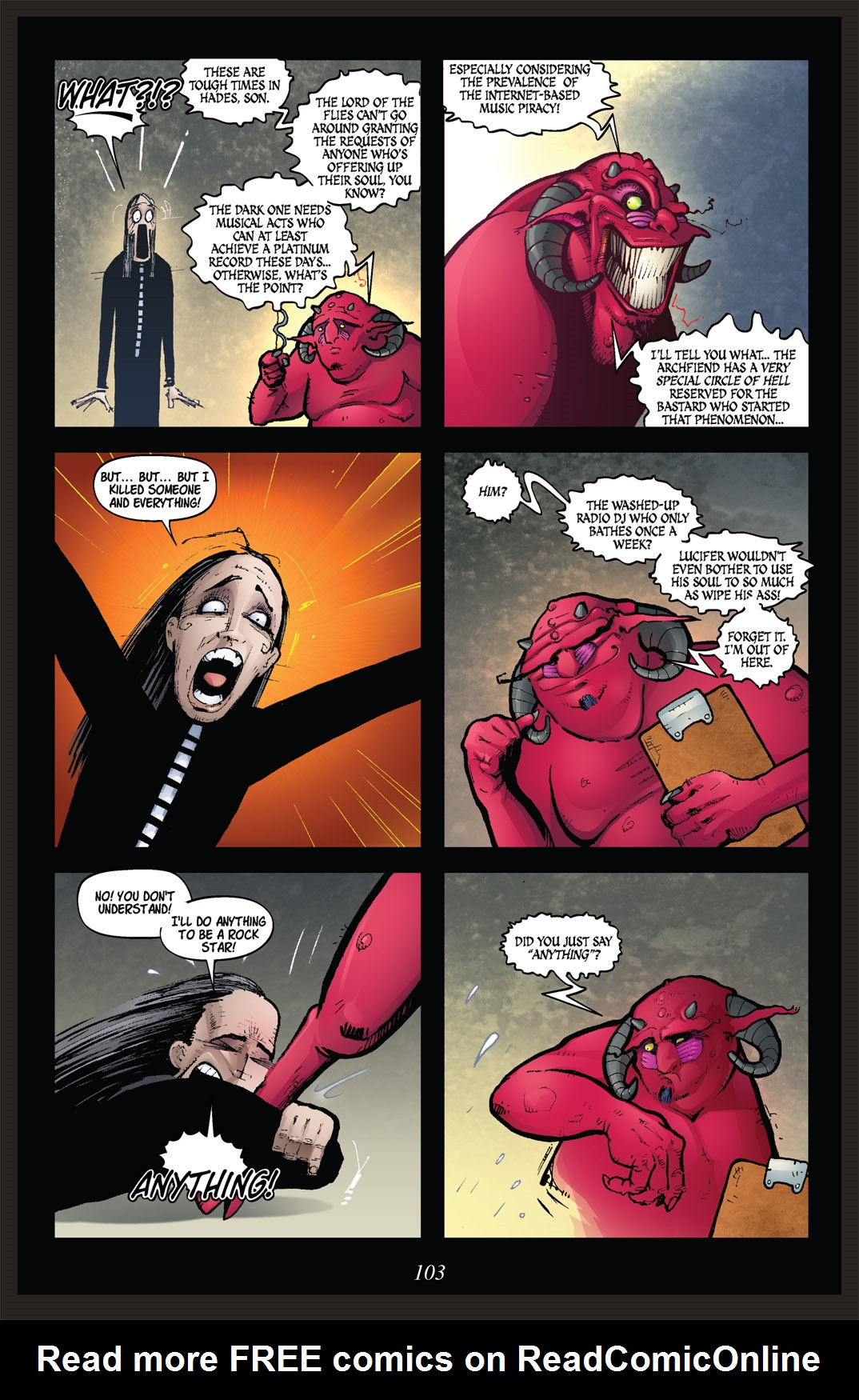 Read online Nightmare World comic -  Issue # Vol. 2 Leave the Light On - 104