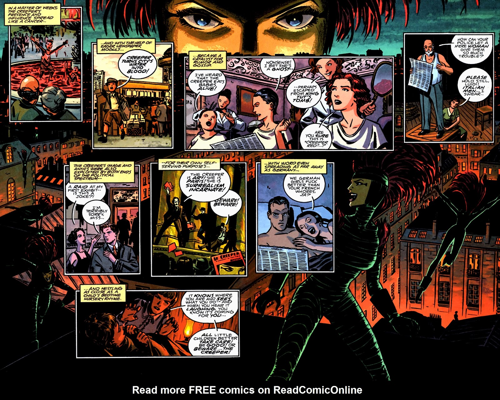 Read online Beware The Creeper (2003) comic -  Issue #3 - 9