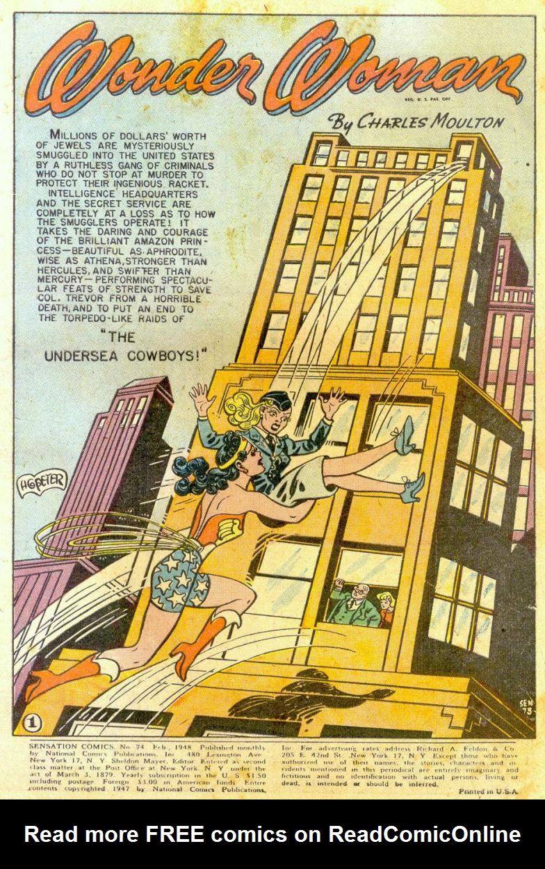 Read online Sensation (Mystery) Comics comic -  Issue #74 - 3