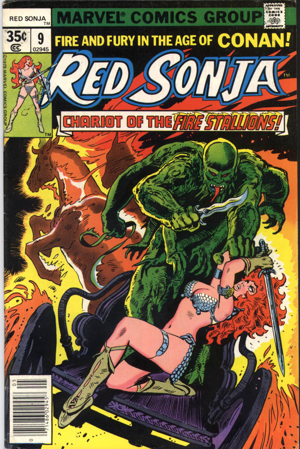 Red Sonja (1977) issue 9 - Page 1