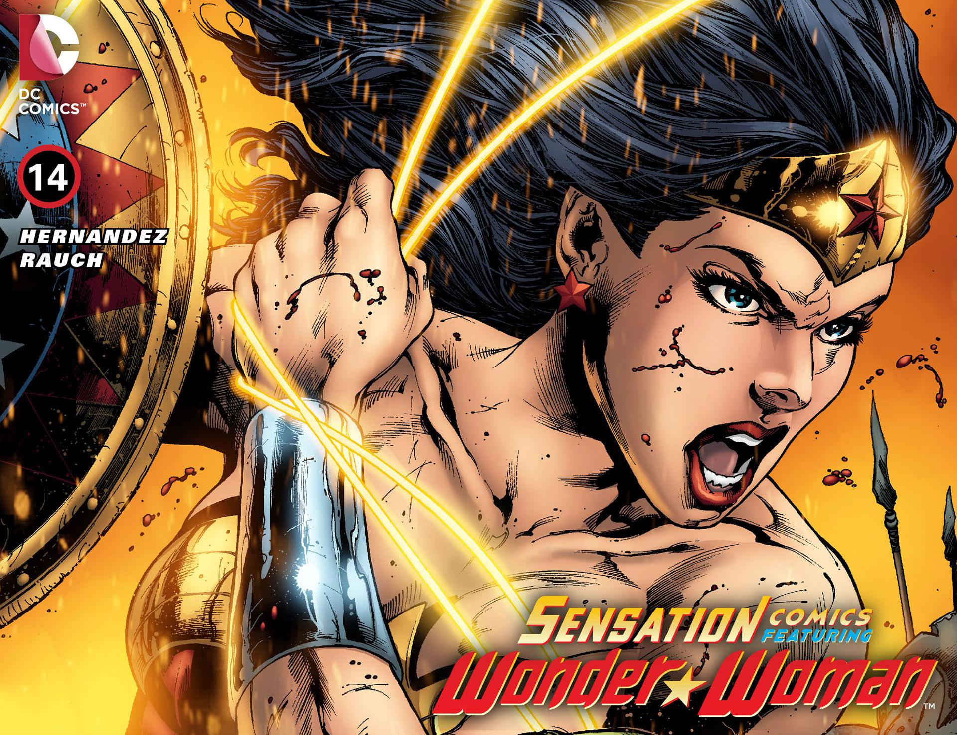 Read online Sensation Comics Featuring Wonder Woman comic -  Issue #14 - 1