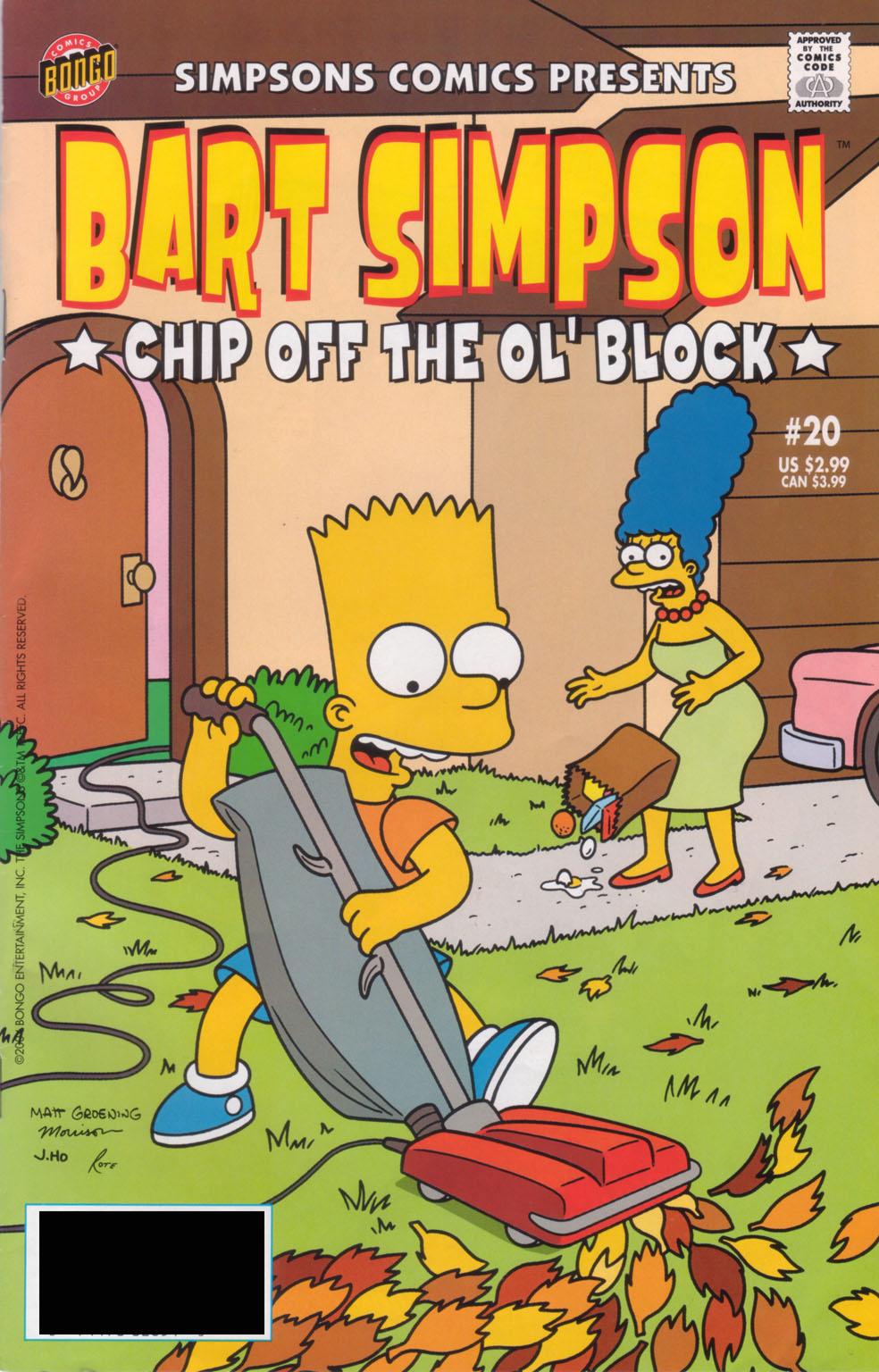 Simpsons Comics Presents Bart Simpson 20 Page 1