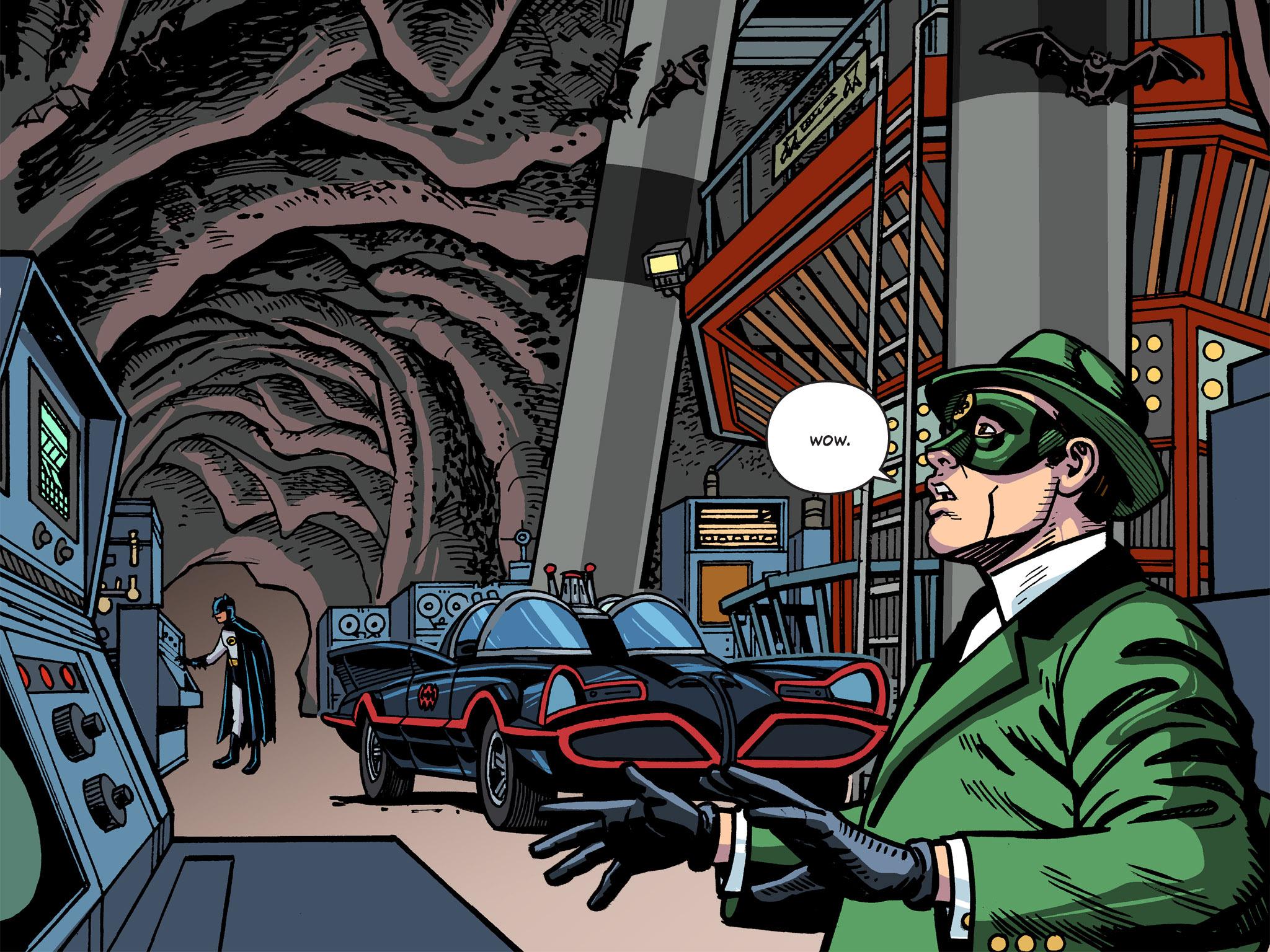 Read online Batman '66 Meets the Green Hornet [II] comic -  Issue #5 - 48