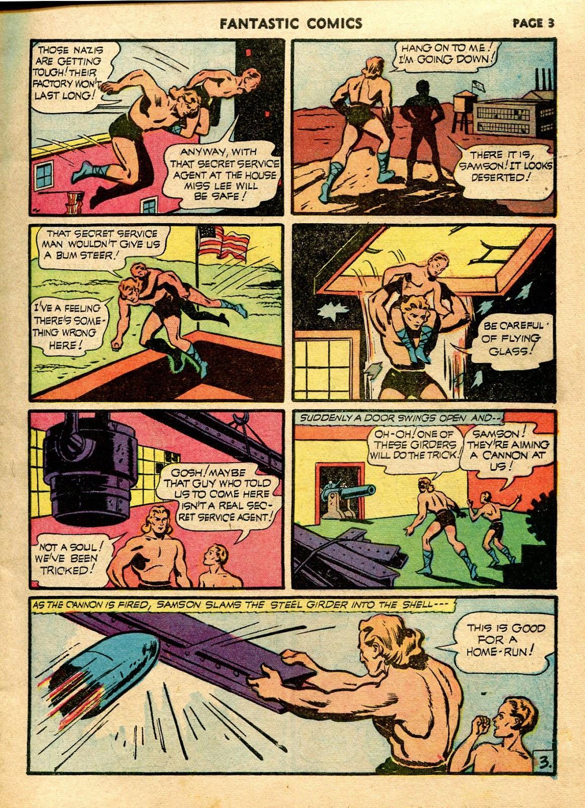 Read online Fantastic Comics comic -  Issue #21 - 5