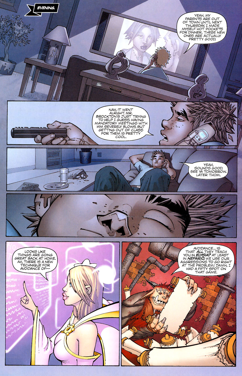 Read online Shrugged (2006) comic -  Issue #1 - 20