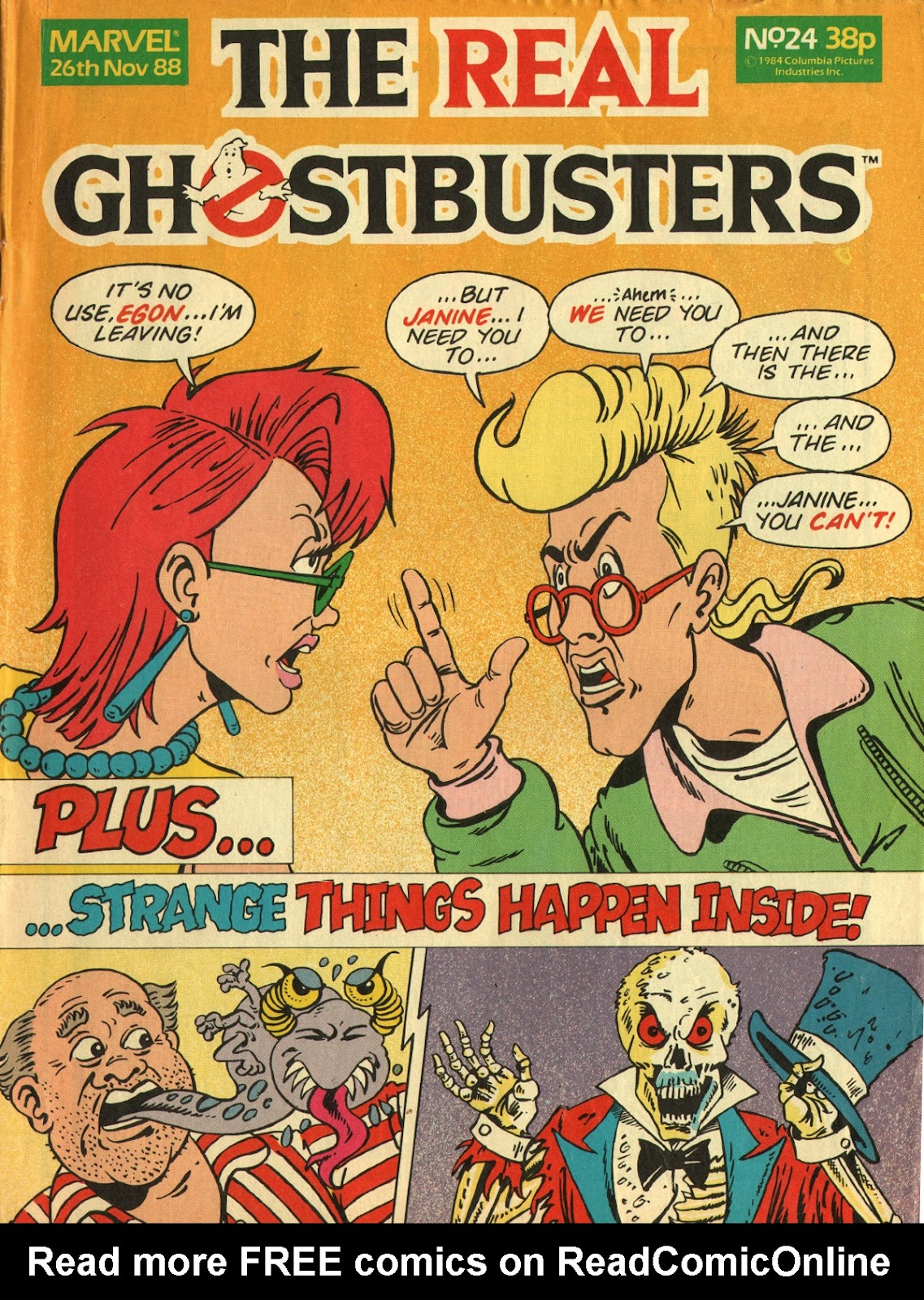 The Real Ghostbusters 24 Page 1