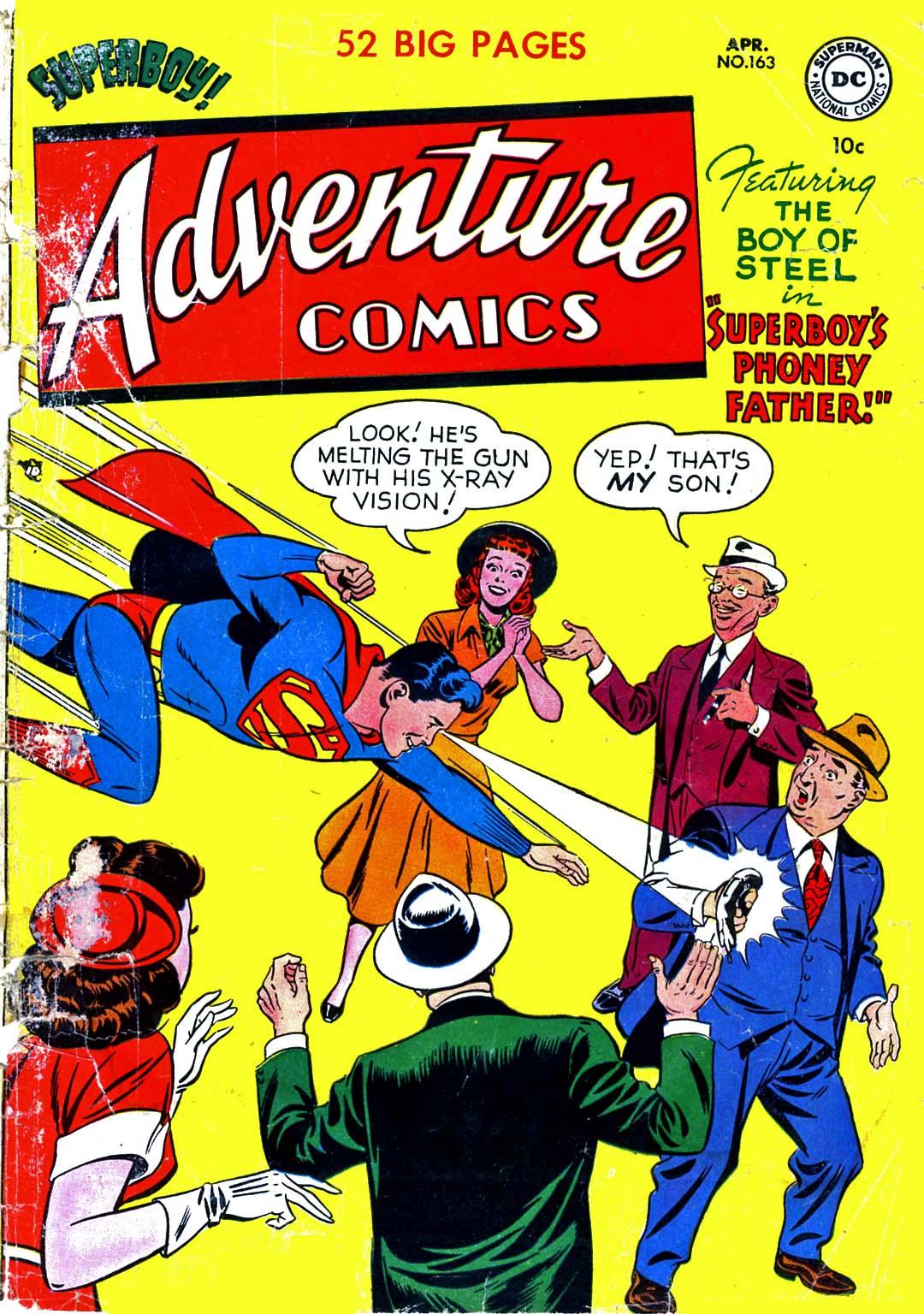 Read online Adventure Comics (1938) comic -  Issue #163 - 1