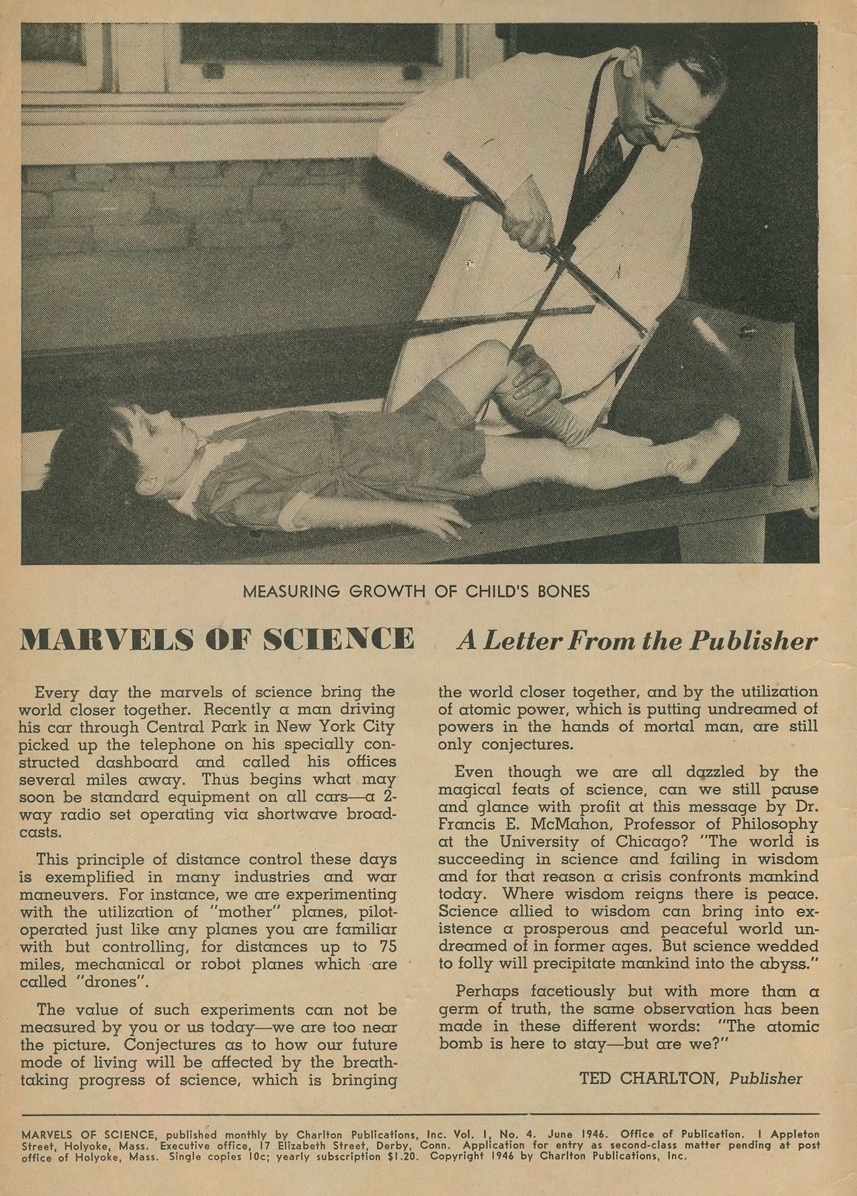 Marvels Of Science 4 Page 1