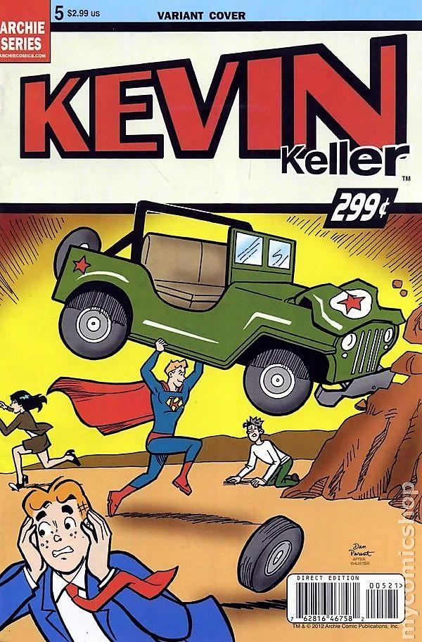 Read online Kevin Keller comic -  Issue #5 - 2