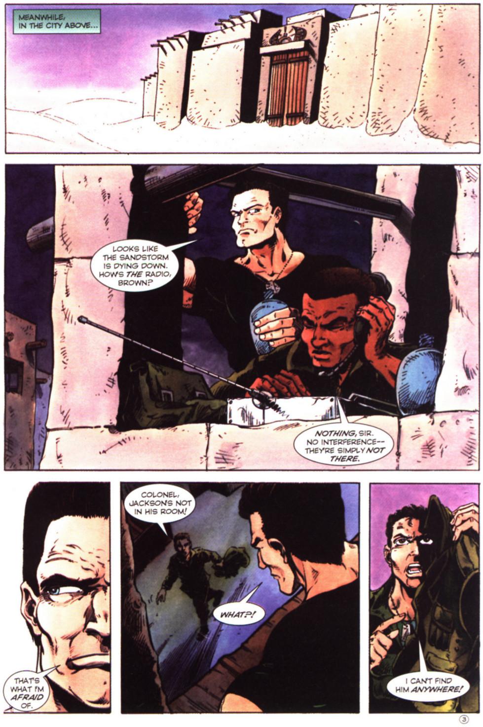 Read online Stargate comic -  Issue #2 - 5