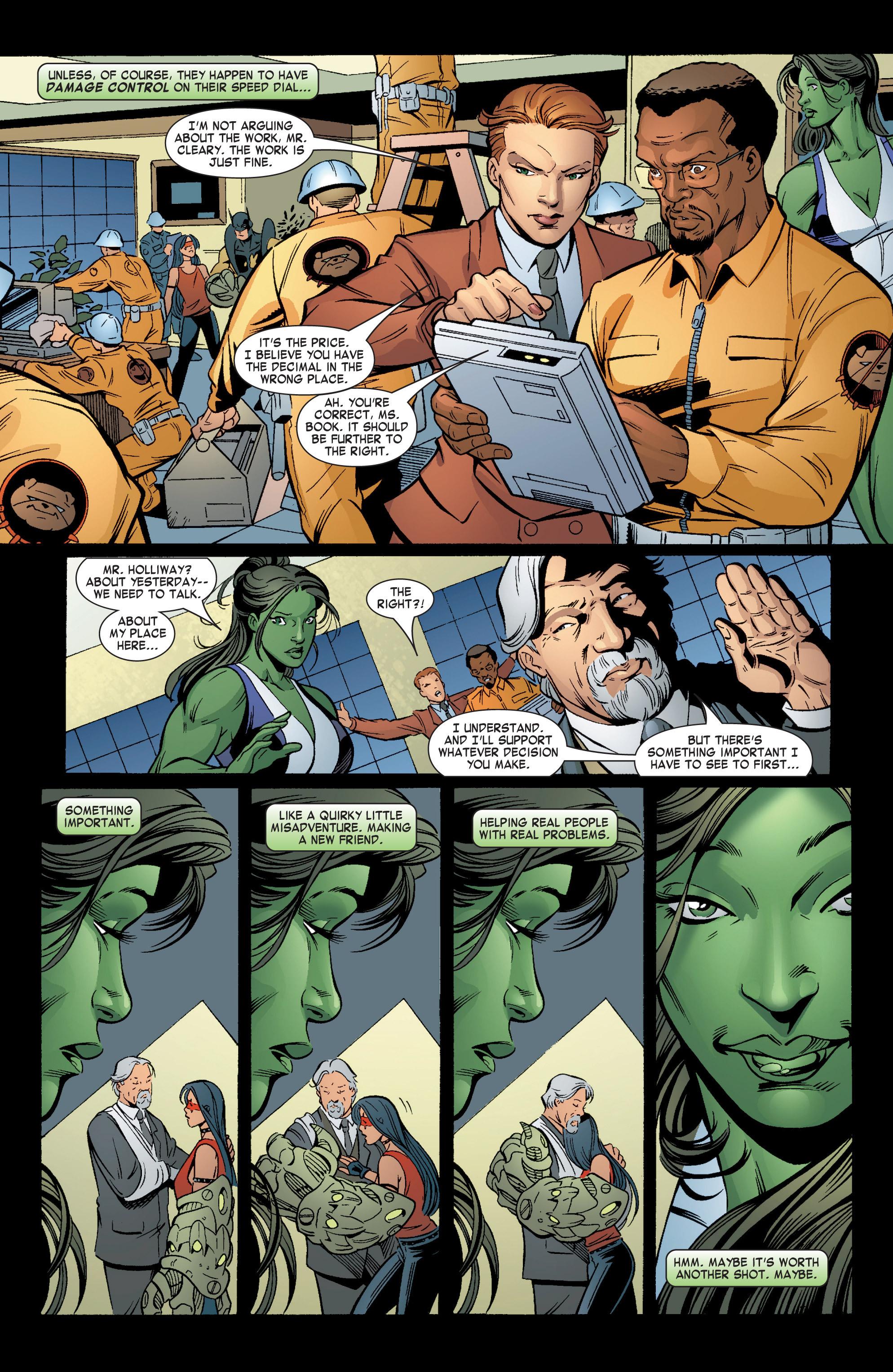 Read online She-Hulk (2004) comic -  Issue #6 - 22