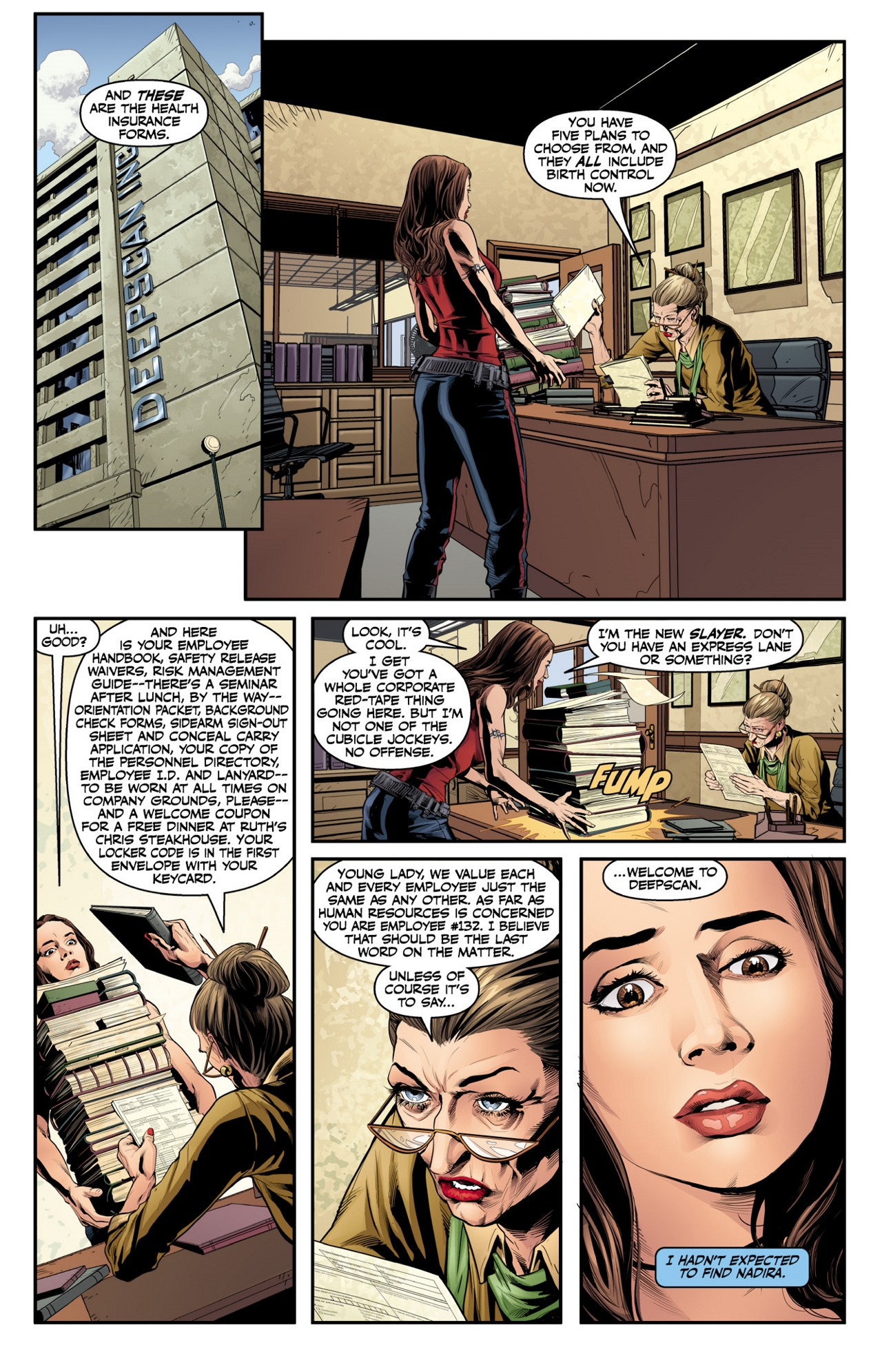 Read online Angel & Faith Season 10 comic -  Issue #2 - 8