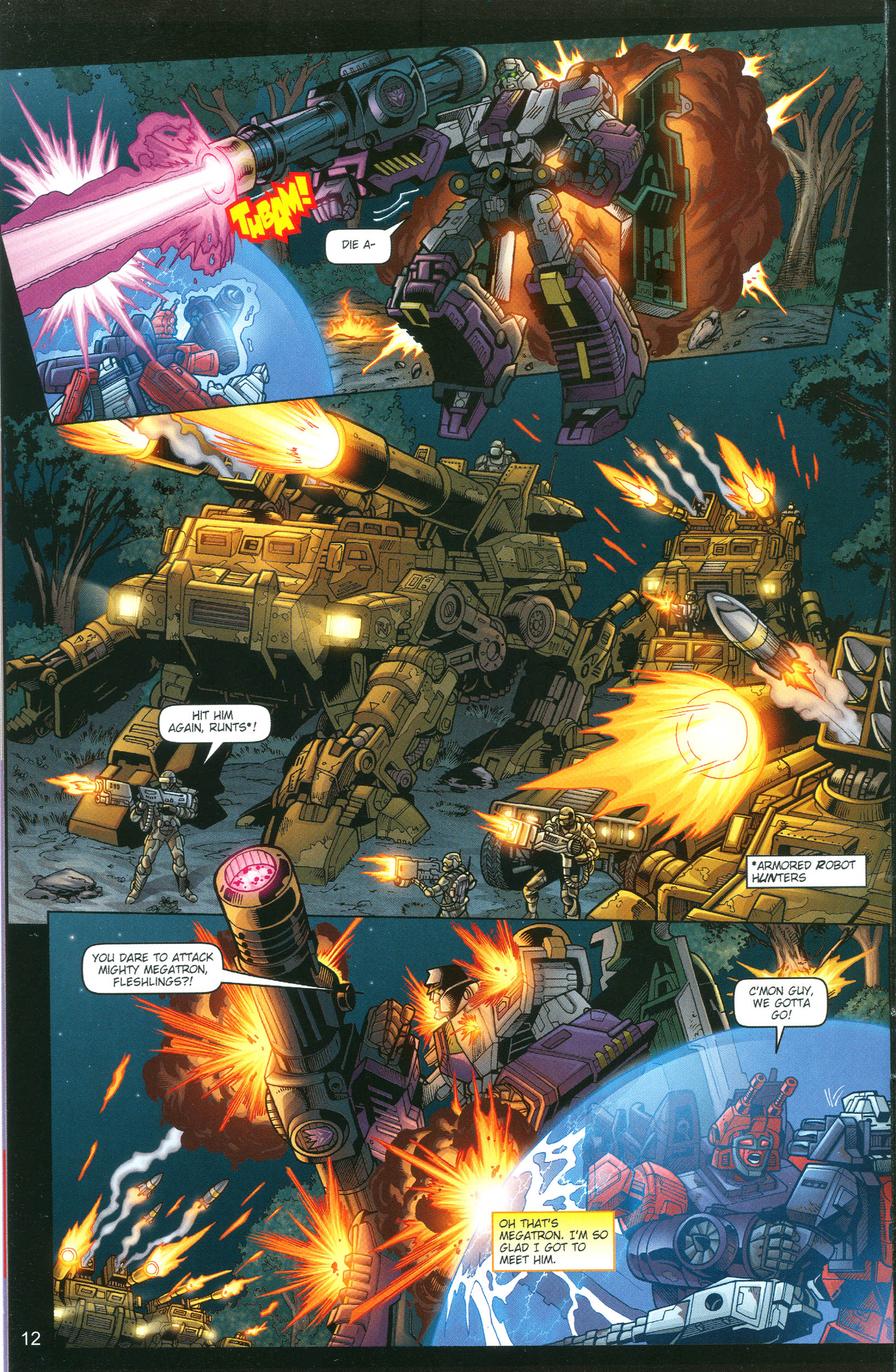 Read online Transformers: Collectors' Club comic -  Issue #13 - 12