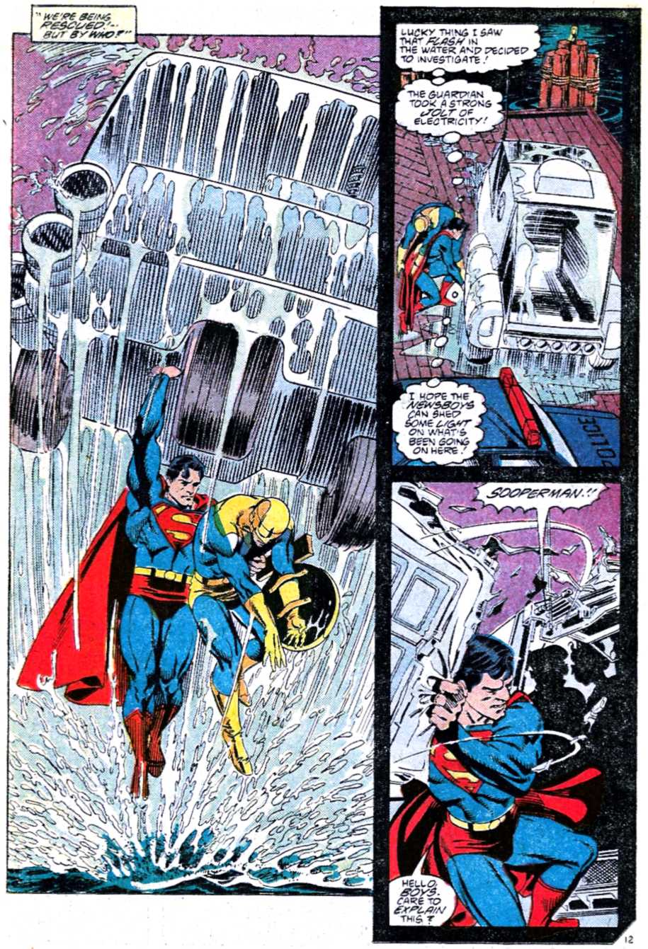 Read online Adventures of Superman (1987) comic -  Issue #449 - 12