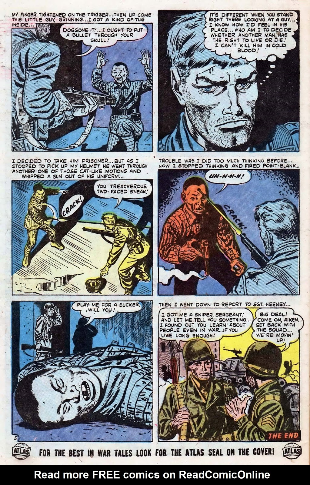 Combat (1952) issue 8 - Page 32