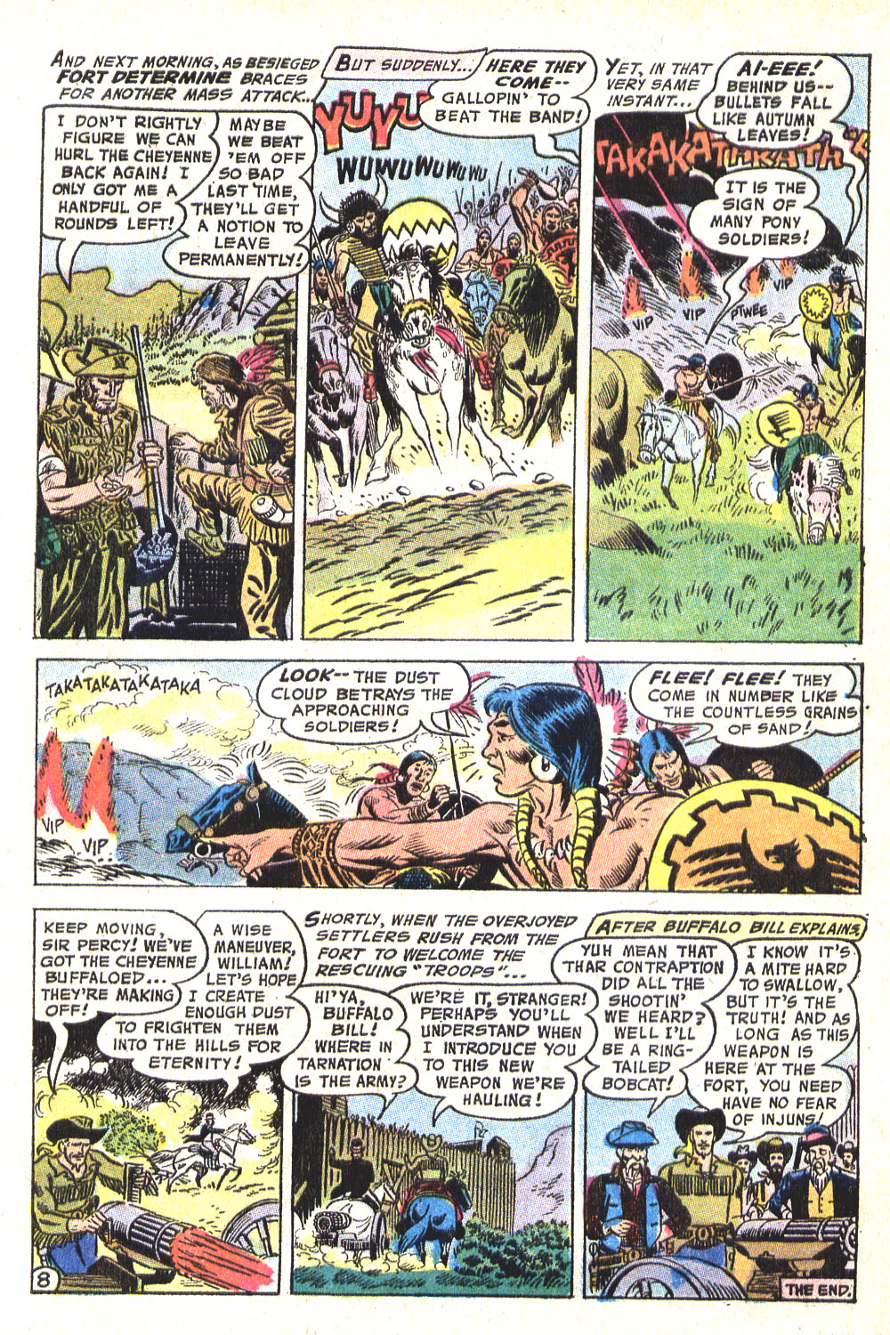 Read online All-Star Western (1970) comic -  Issue #8 - 23