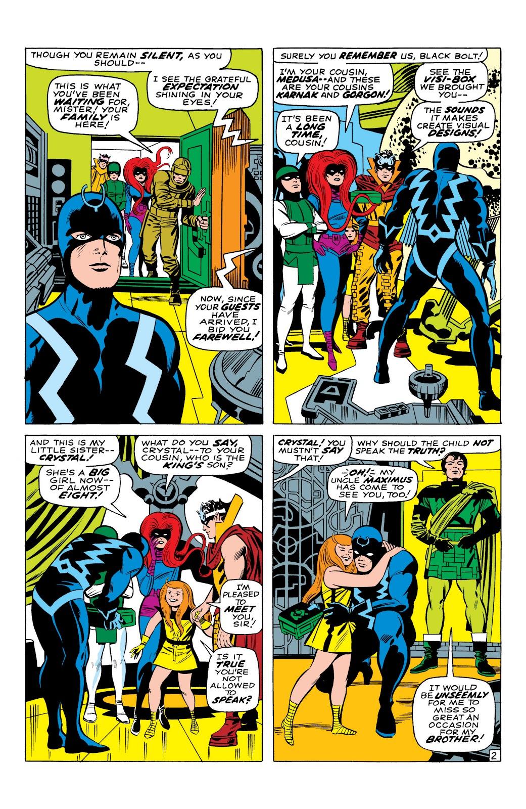 Read online Marvel Masterworks: The Inhumans comic -  Issue # TPB 1 (Part 1) - 24