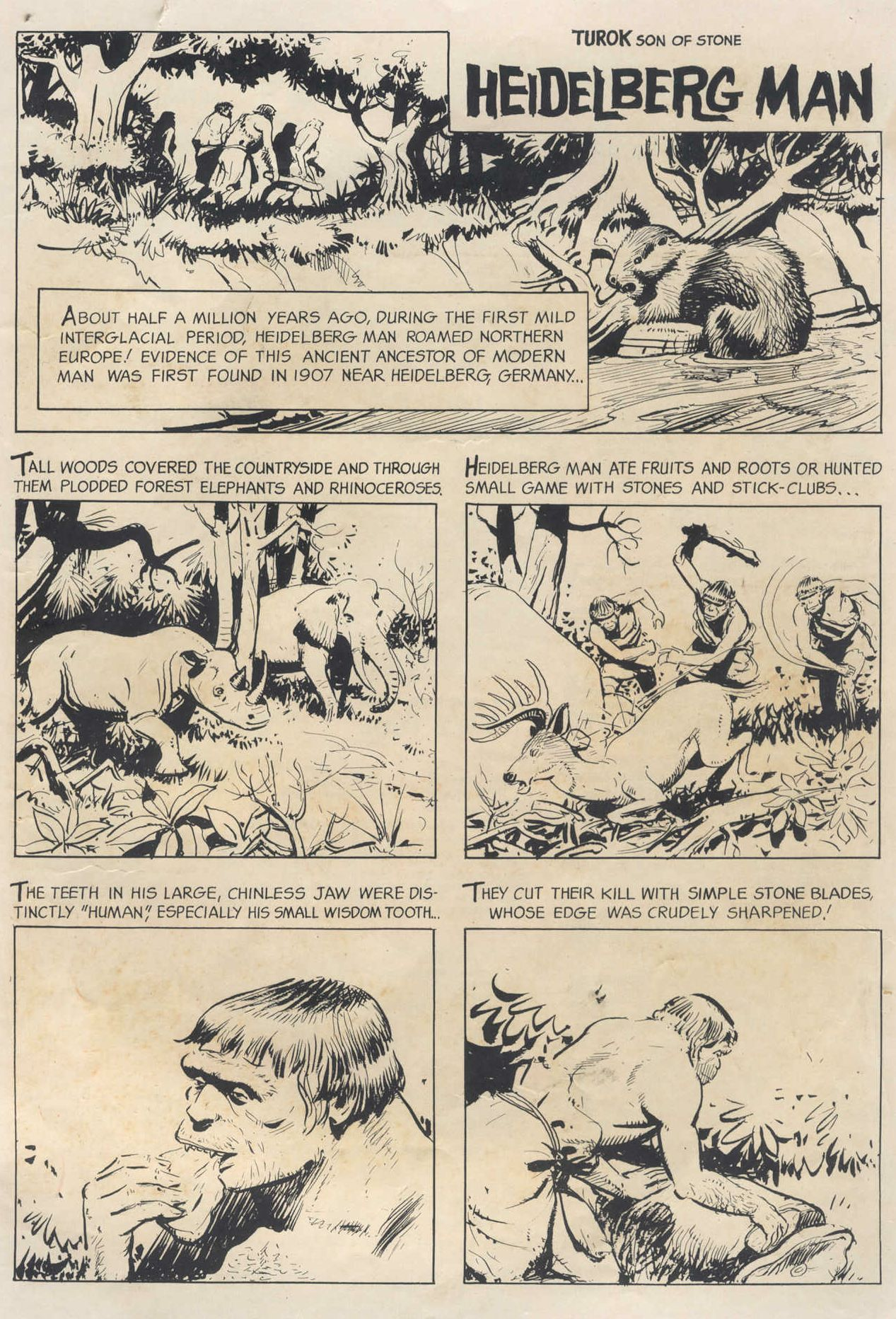 Read online Turok, Son of Stone comic -  Issue #58 - 35
