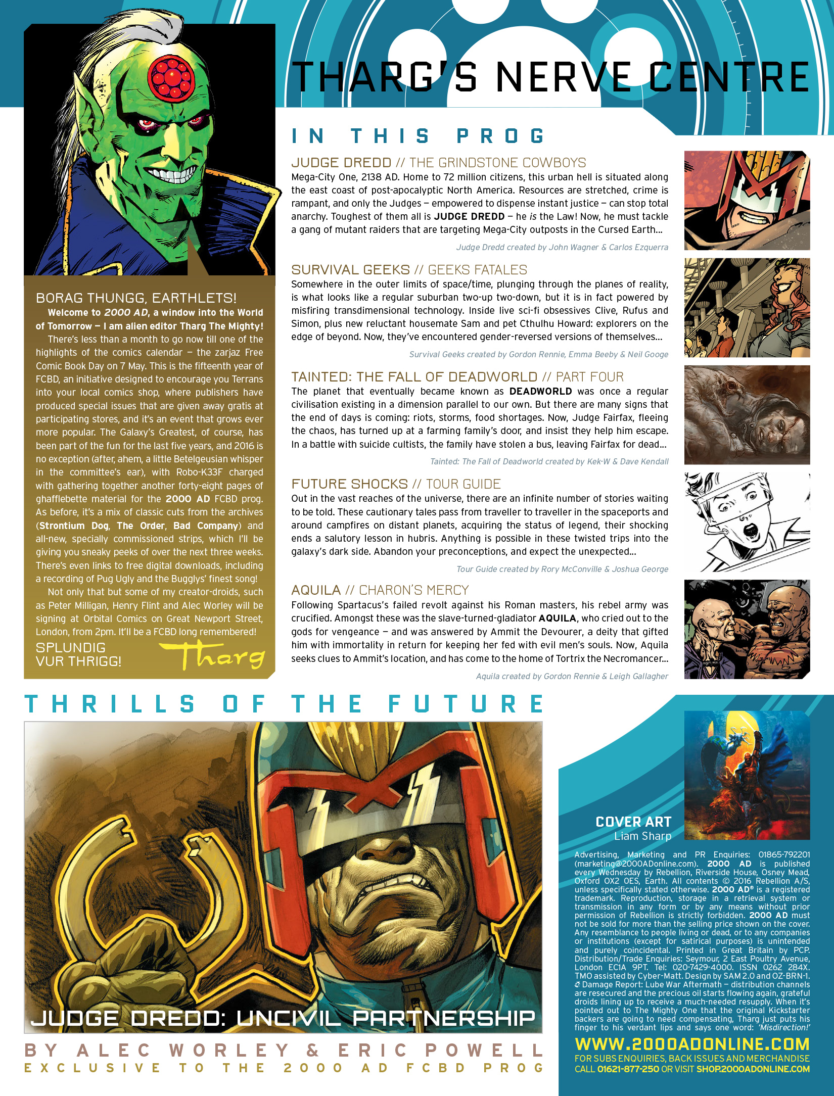 Read online 2000 AD comic -  Issue #1976 - 2