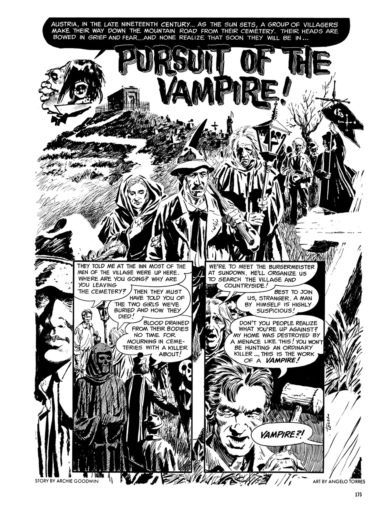 Read online Eerie Archives comic -  Issue # TPB 3 - 176