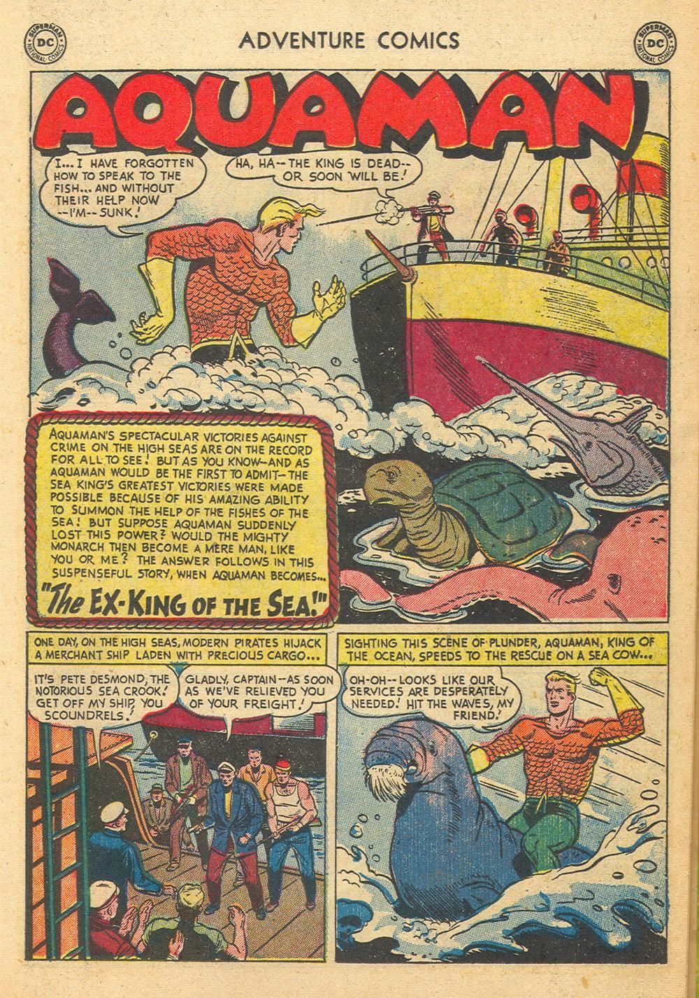 Read online Adventure Comics (1938) comic -  Issue #176 - 17