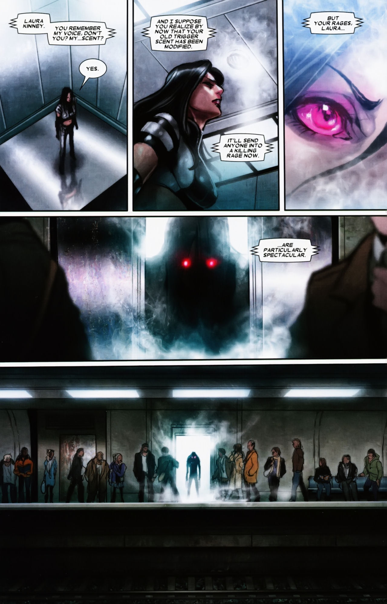 Read online X-23 (2010) comic -  Issue #11 - 20