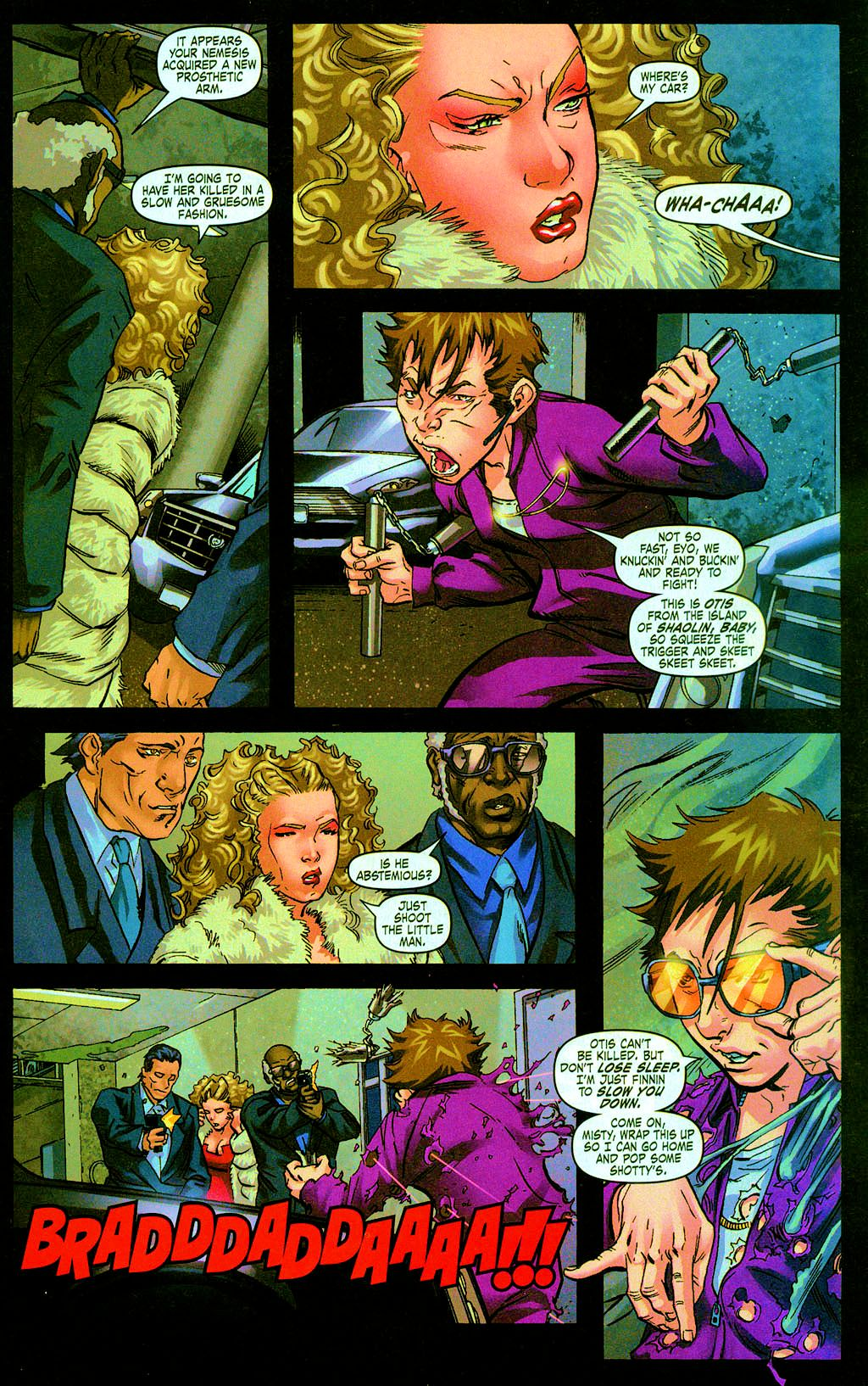 Read online Daughters of the Dragon comic -  Issue #6 - 7