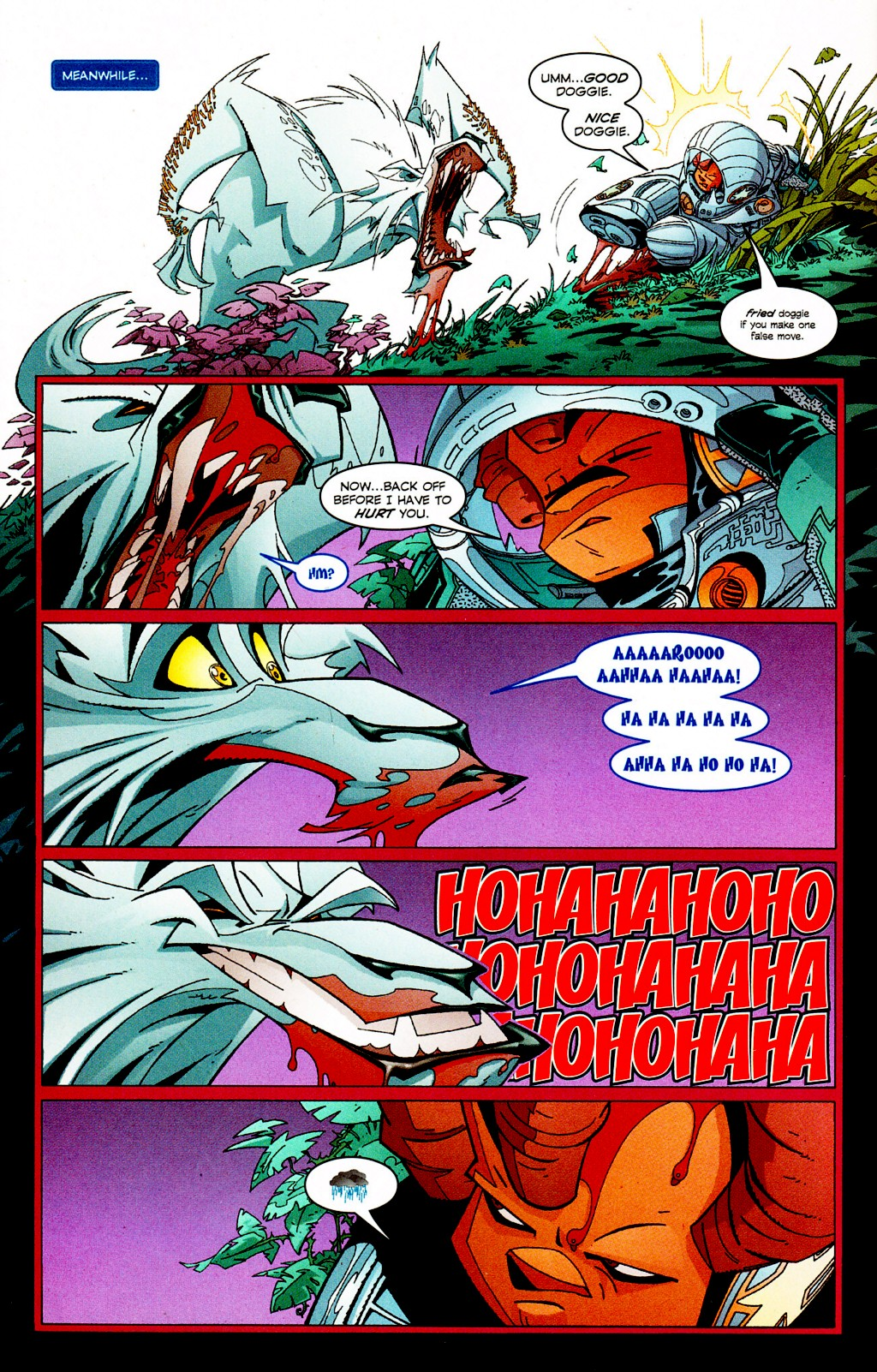 Read online Monster World (Existed) comic -  Issue #2 - 16