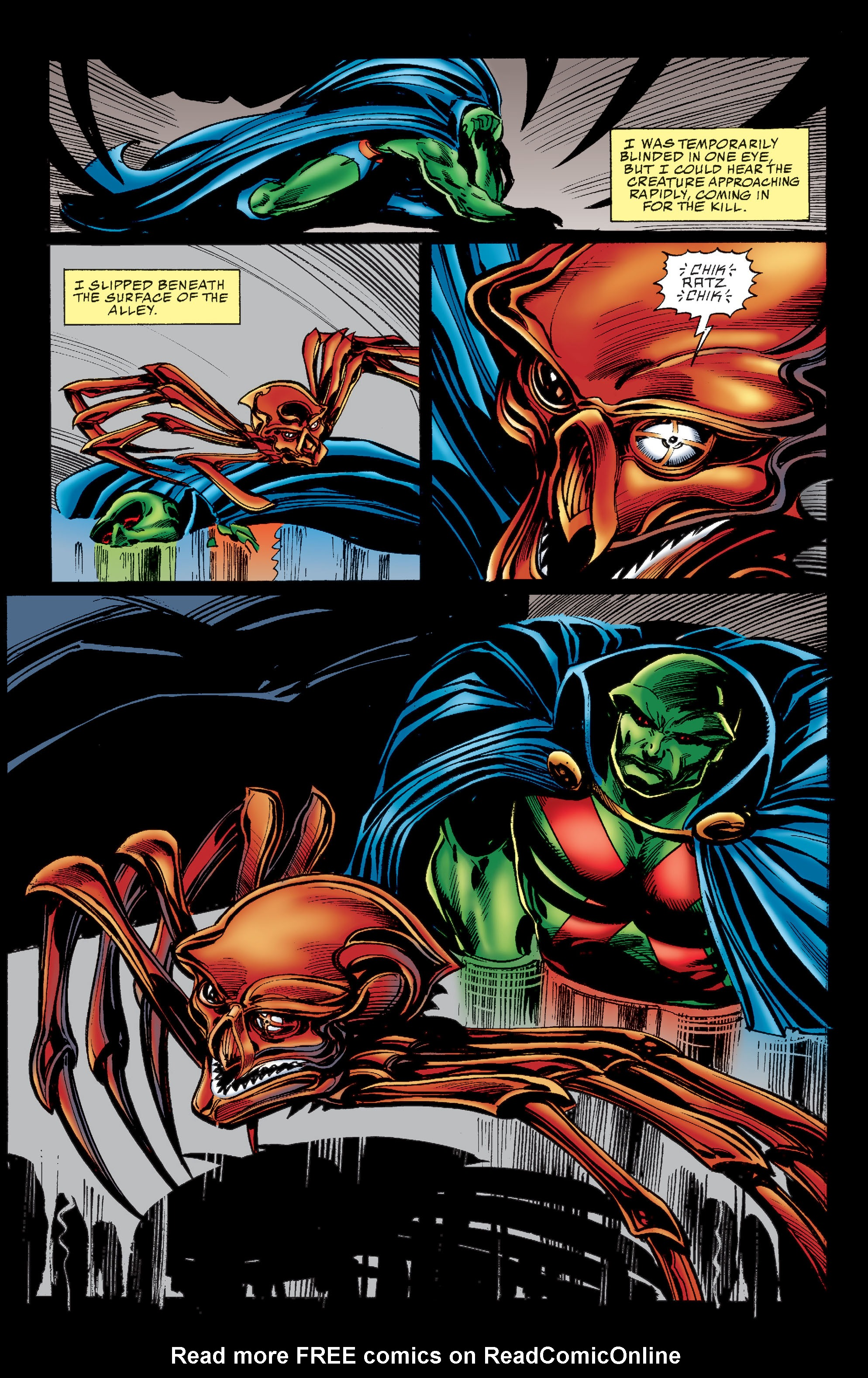 Read online Martian Manhunter: Son of Mars comic -  Issue # TPB - 39