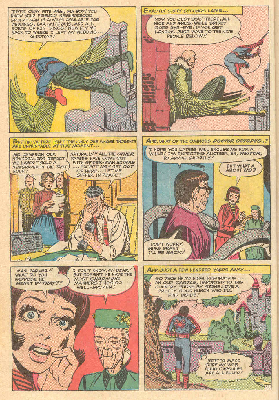 The Amazing Spider-Man (1963) _Annual_6 Page 33