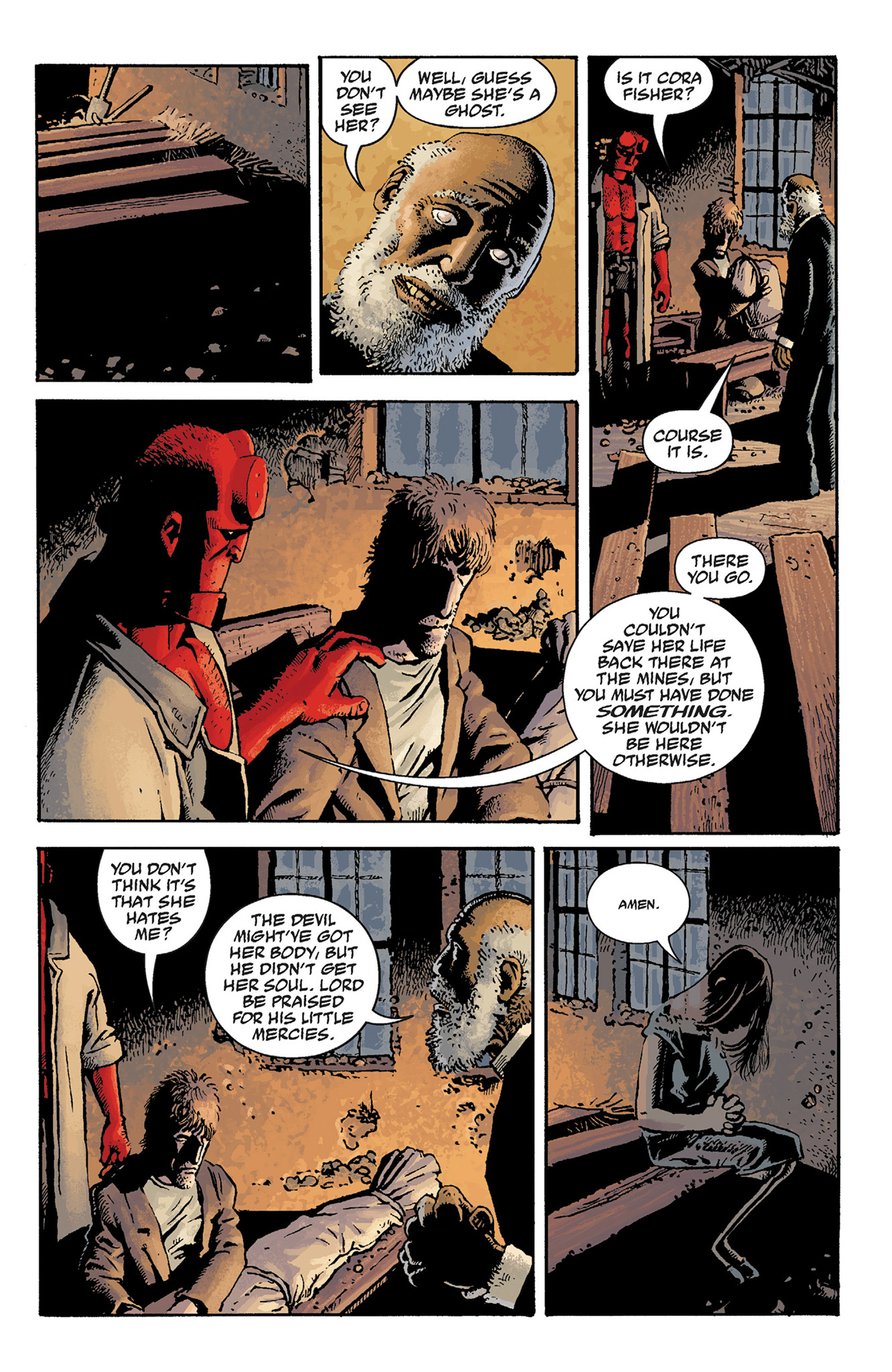 Read online Hellboy: The Crooked Man and Others comic -  Issue # TPB - 51