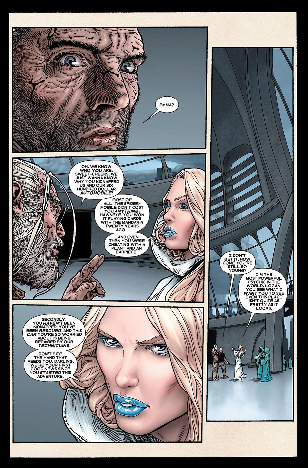 Read online Wolverine: Old Man Logan comic -  Issue # Full - 122
