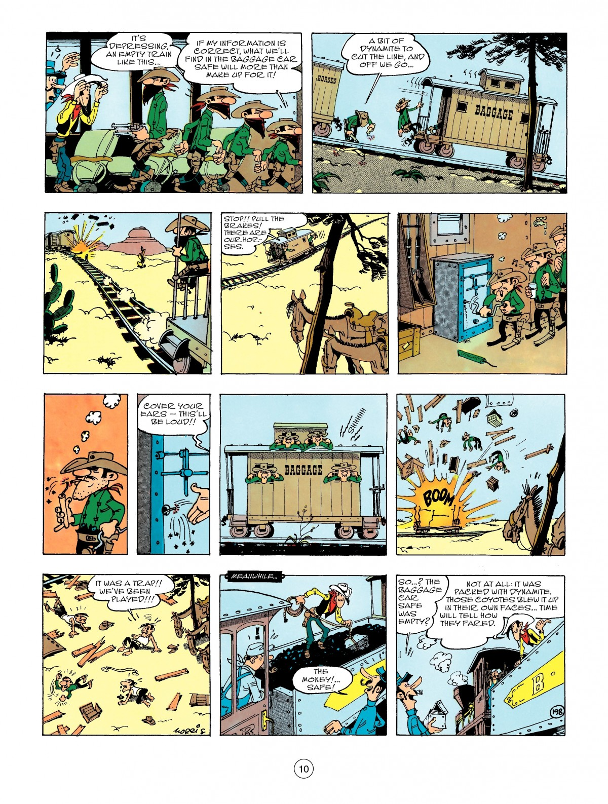 Read online A Lucky Luke Adventure comic -  Issue #47 - 10