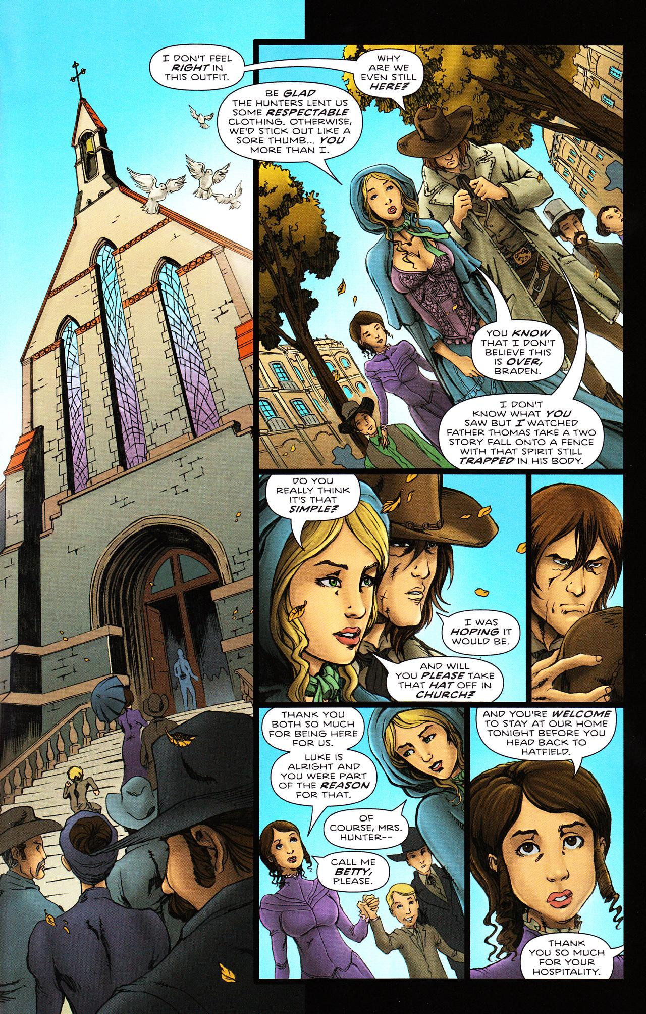 Read online Salem's Daughter: The Haunting comic -  Issue #2 - 15