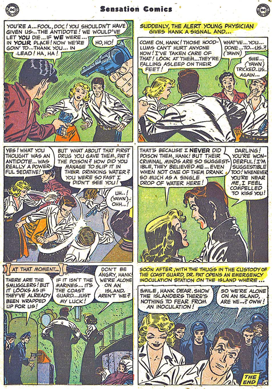 Read online Sensation (Mystery) Comics comic -  Issue #96 - 26