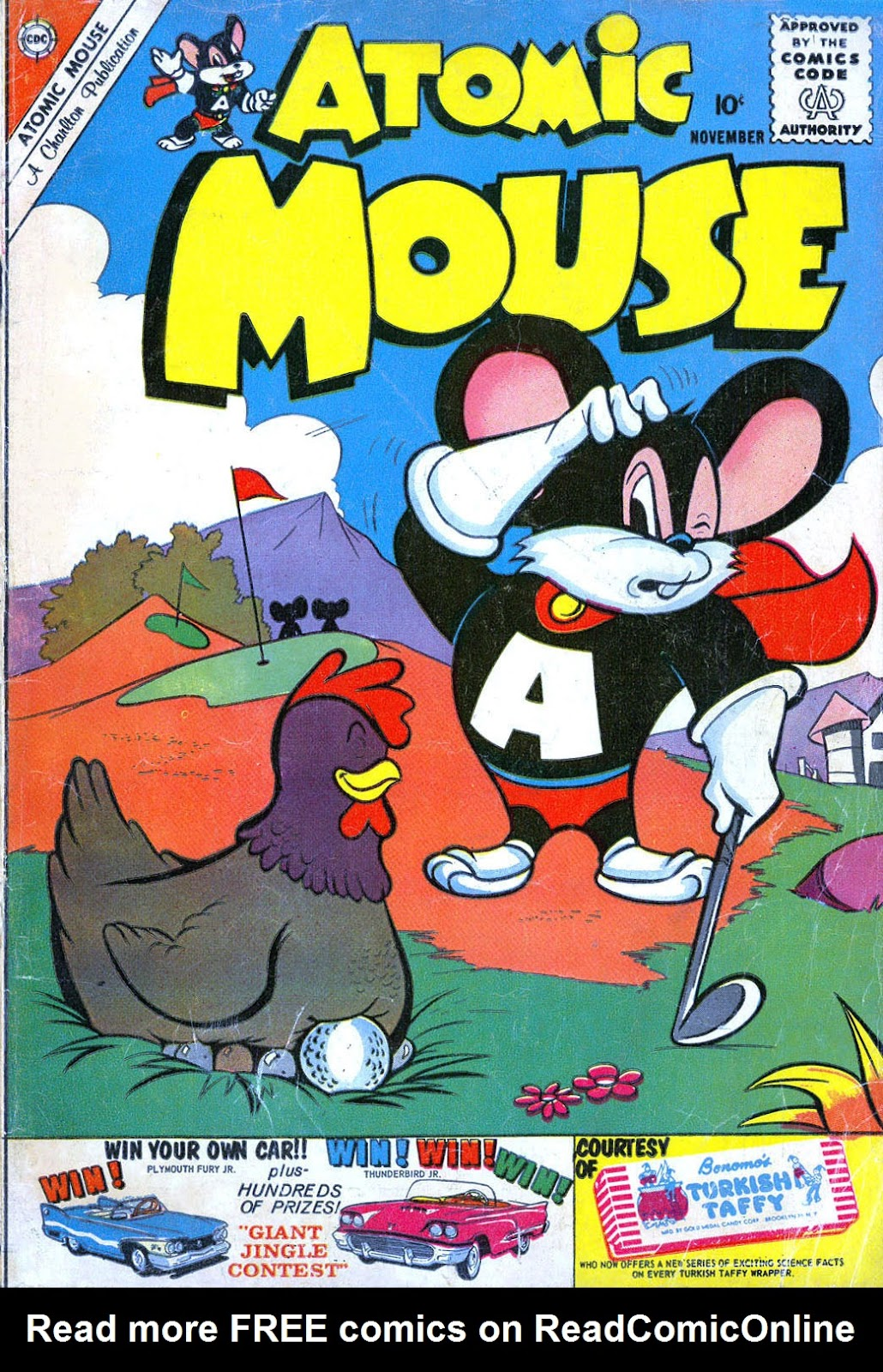 Atomic Mouse issue 39 - Page 1