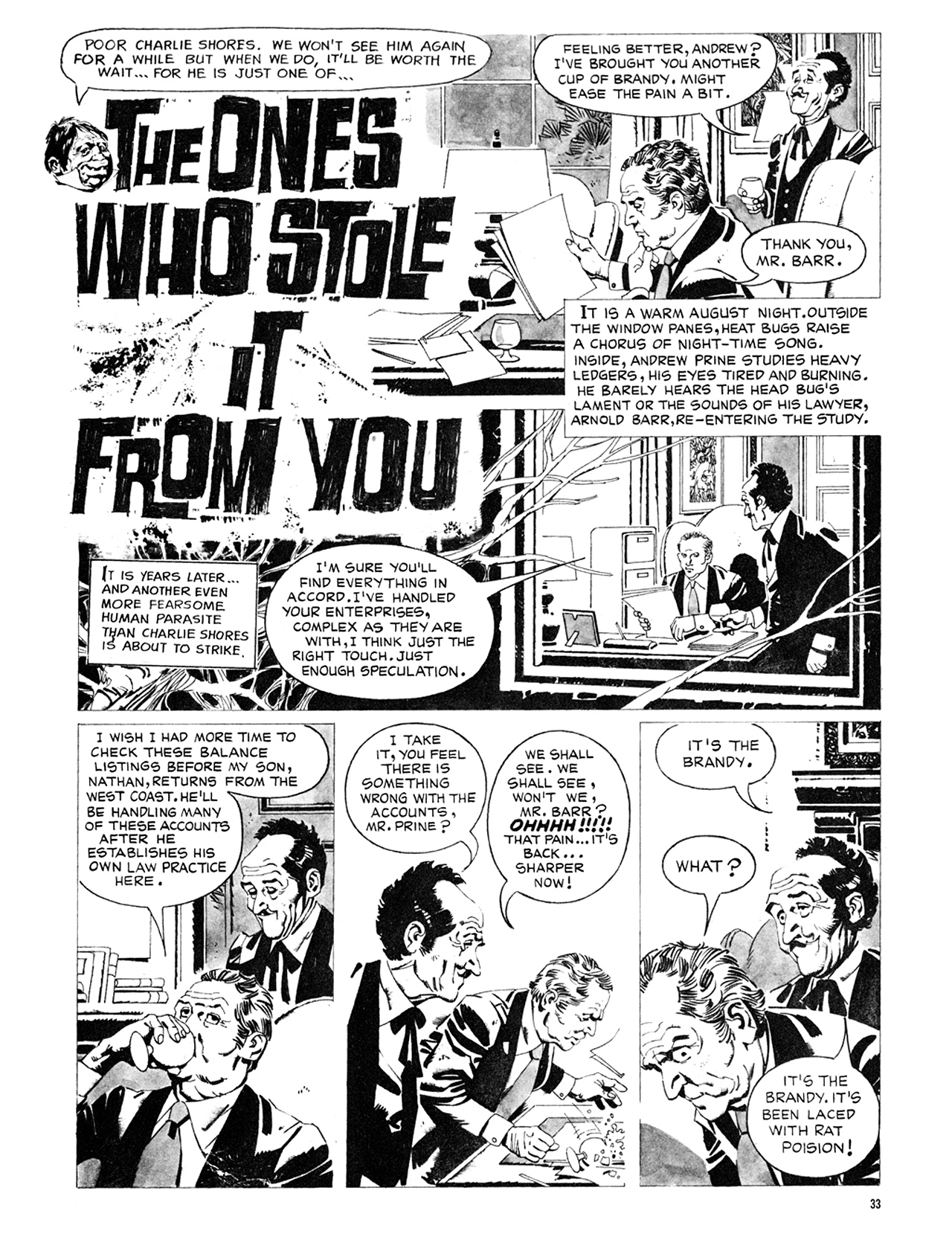 Read online Eerie Archives comic -  Issue # TPB 8 - 34