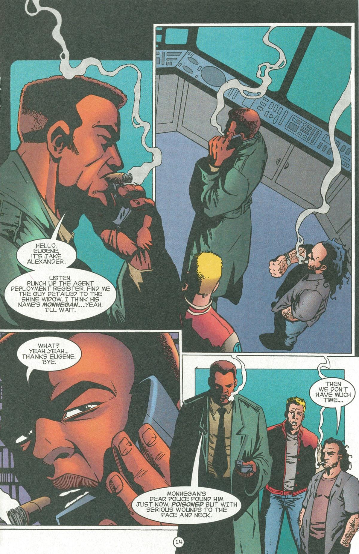 Read online UltraForce (1995) comic -  Issue #6 - 16