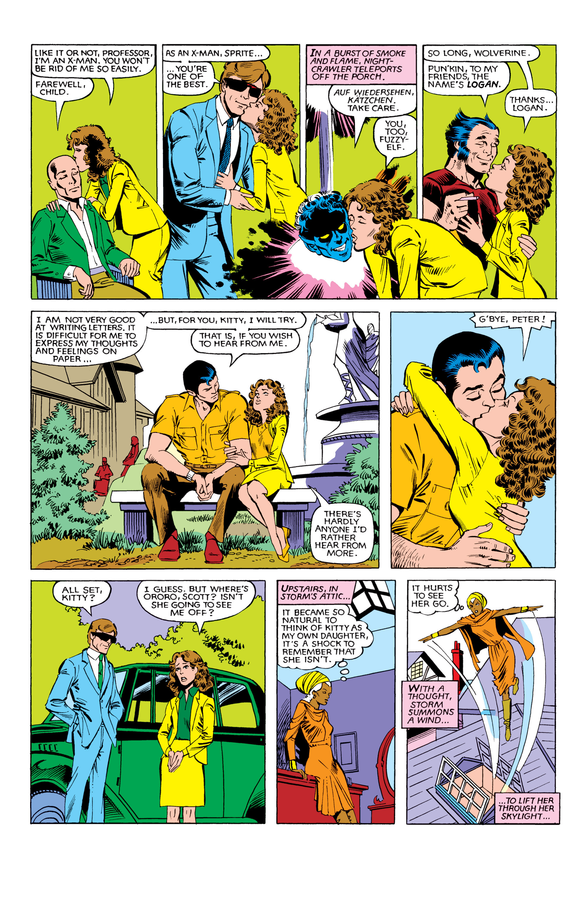 Read online Uncanny X-Men (1963) comic -  Issue #151 - 7