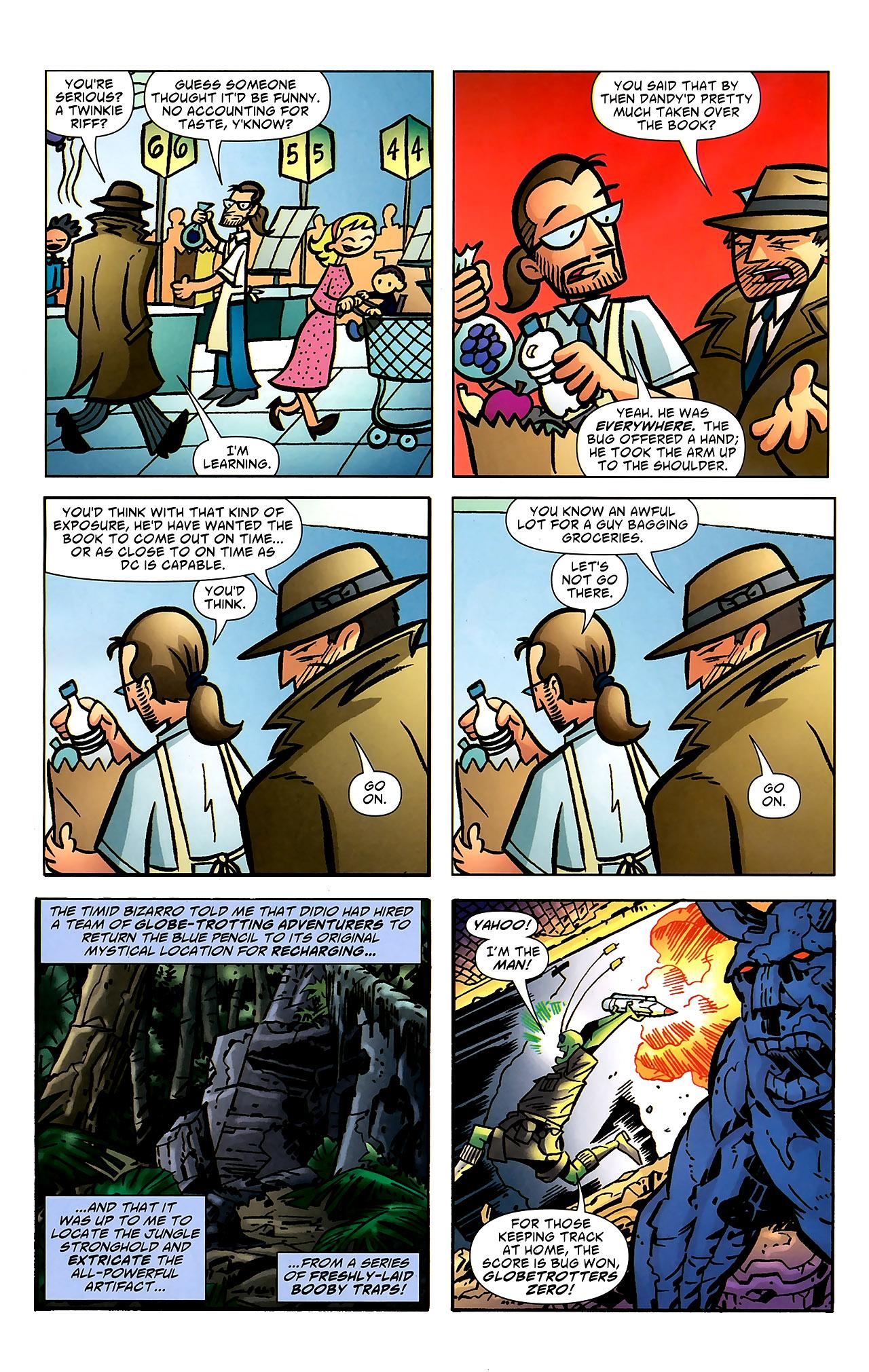 Read online Ambush Bug: Year None comic -  Issue #7 - 17