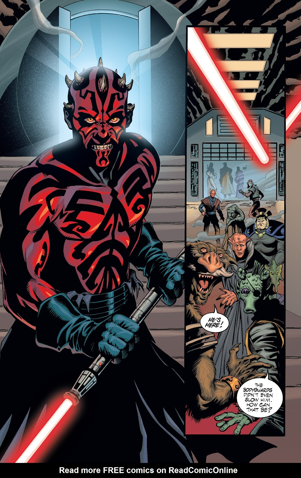 Read online Star Wars Legends: Rise of the Sith - Epic Collection comic -  Issue # TPB 2 (Part 3) - 14