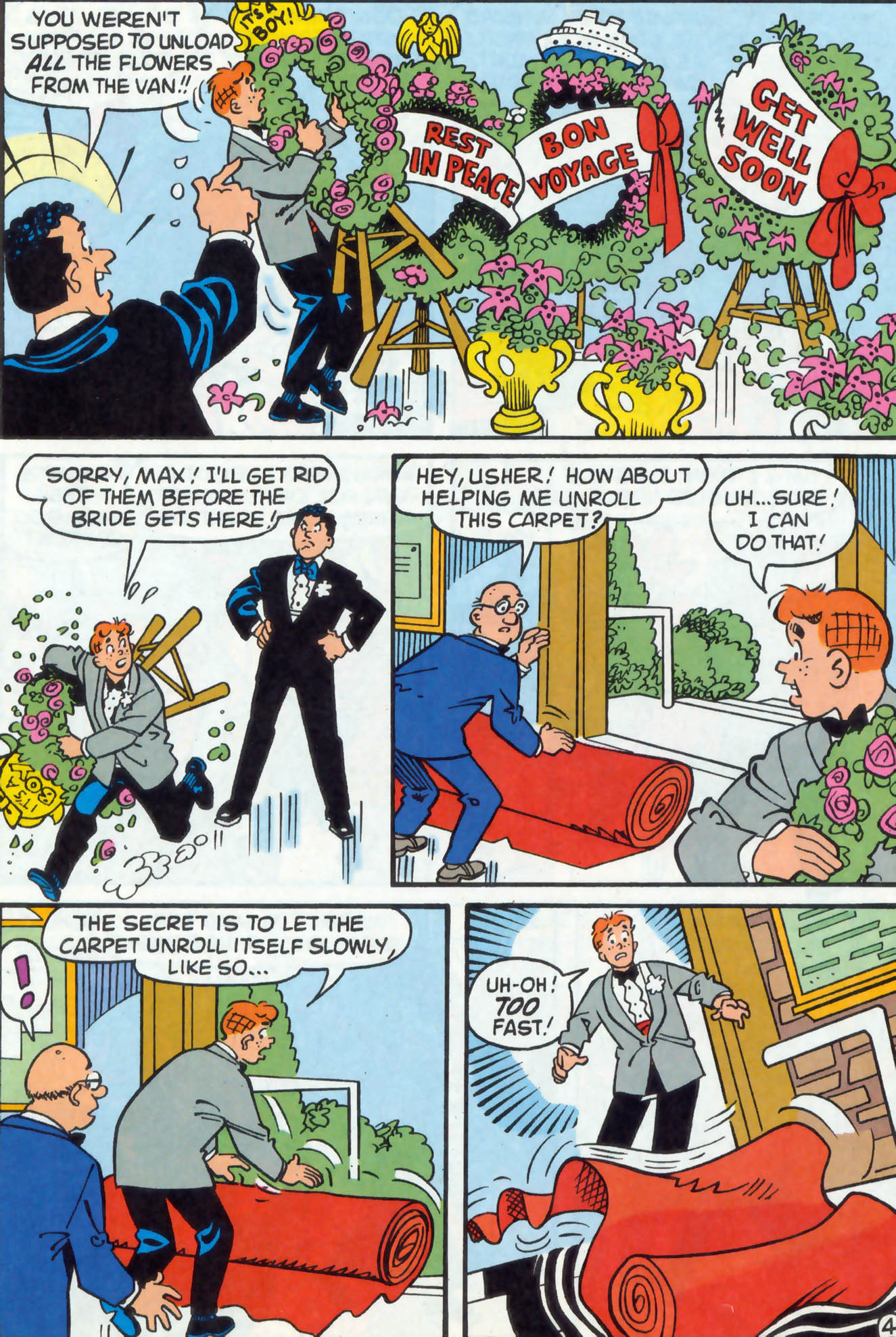 Read online Archie (1960) comic -  Issue #476 - 5
