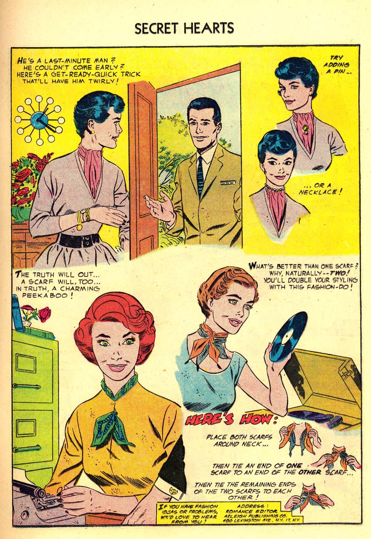 Read online Secret Hearts comic -  Issue #34 - 17