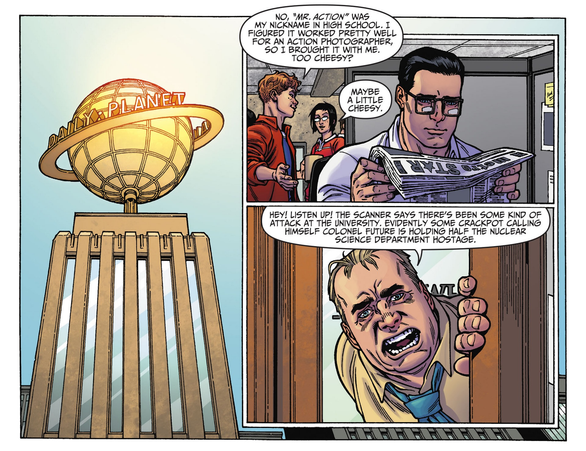 Read online Adventures of Superman [I] comic -  Issue #39 - 21