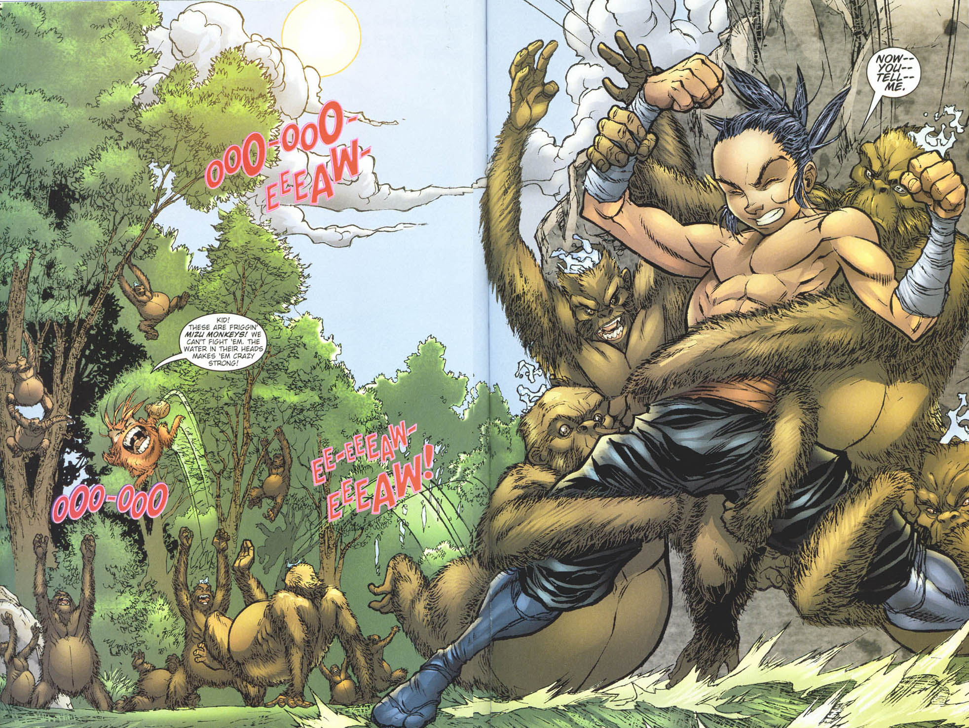 Read online Ninja Boy comic -  Issue #5 - 17