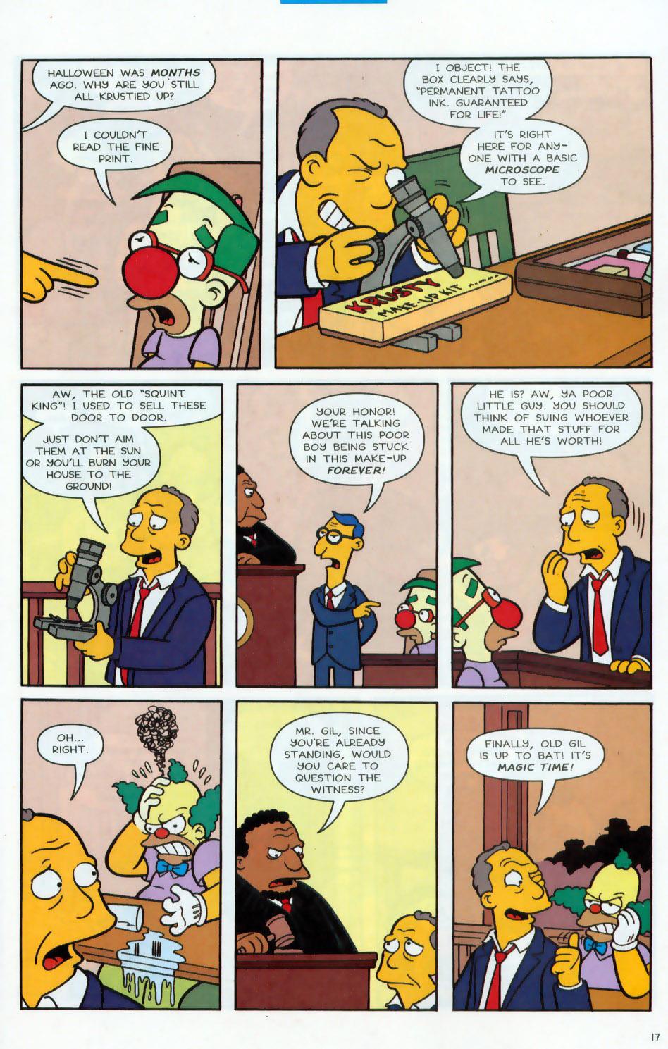 Read online Simpsons Comics comic -  Issue #78 - 18