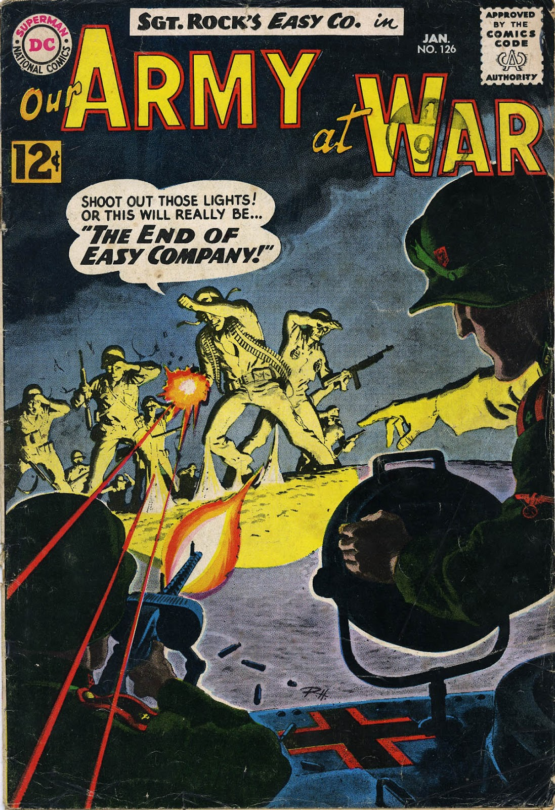 Our Army at War (1952) issue 126 - Page 1