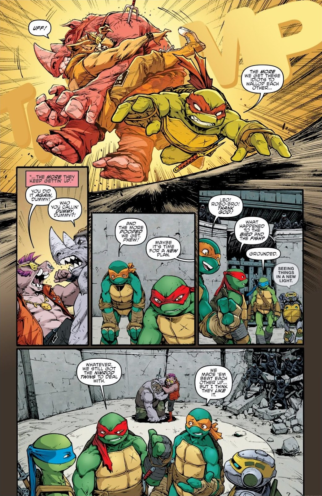 Read online Teenage Mutant Ninja Turtles: The IDW Collection comic -  Issue # TPB 6 (Part 3) - 54