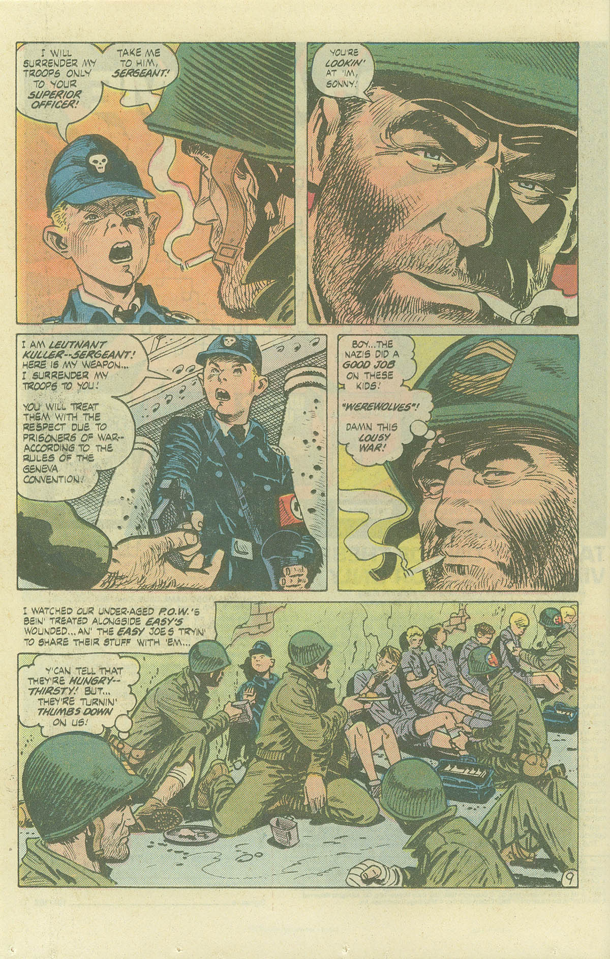 Read online Sgt. Rock comic -  Issue #382 - 13