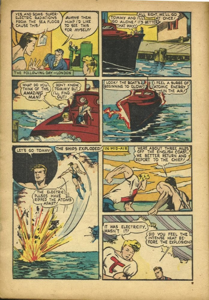 Read online Amazing Man Comics comic -  Issue #25 - 6